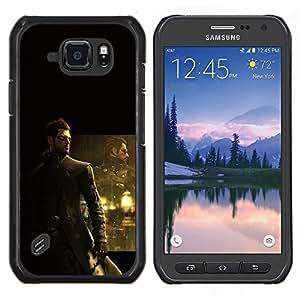LECELL--Funda protectora / Cubierta / Piel For Samsung Galaxy S6Active Active G890A -- Deusex Juego --