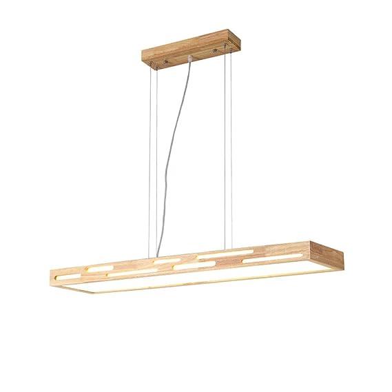 Amazon.com: Lámpara de techo de madera, lámpara de techo ...