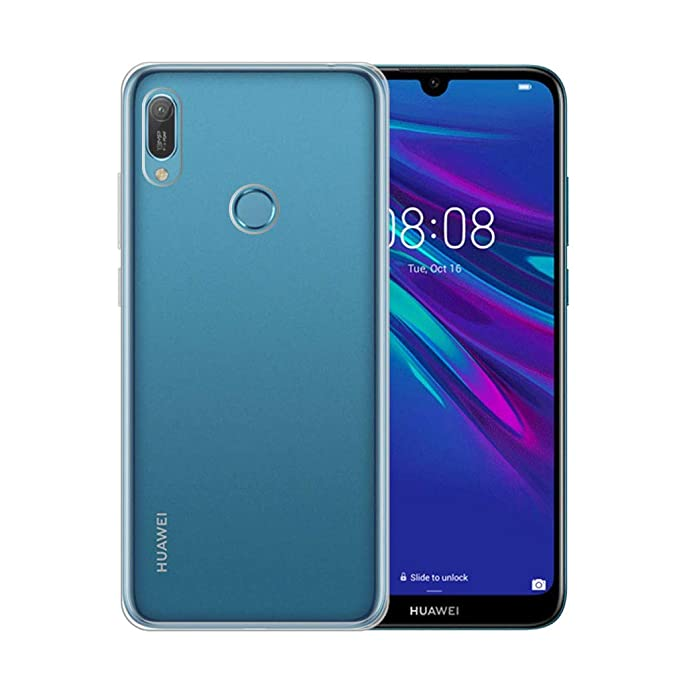 Amazon.com: IJIA Case for Huawei Y6 2019 - Transparent Clear ...