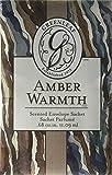 GREENLEAF Small Sachet Amber Warmth
