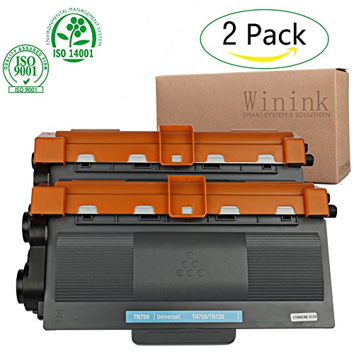 Winink TN750 Toner Cartridge hl-5450dn High Yield Black Compatible With Brother 6180DW 5450DN 8510DN 5440D