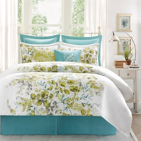 Harbor House 4-Piece Amelia Comforter Set, King, Multicolor