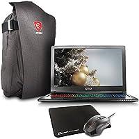 MSI GS63VR STEALTH PRO-229 15.6 Gaming Laptop - Core i7-7700HQ Skylake, 32GB RAM, 1TB HDD + 512GB SSD, GTX1060 6G VRAM, VR Ready + Gaming Bundle