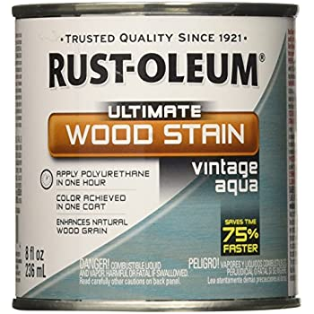 Amazon Com Rust Oleum Ultimate Wood Stain 8 Oz Vintage