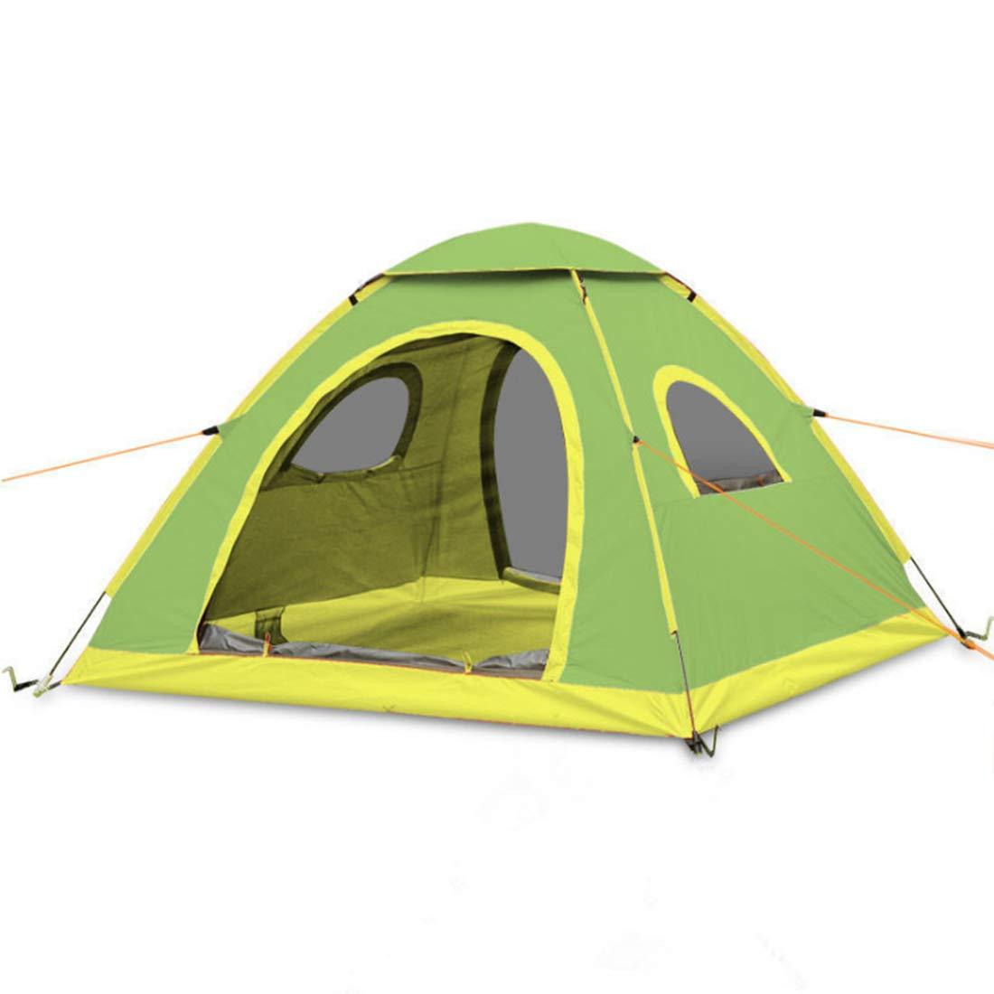 MINGANGSAYONE Outdoor Camping für 4 Personen oder 3 Personen Wasserdichtes Zelt