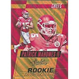 Football NFL 2017 Absolute Rookie Roundup Retail #20 Patrick Mahomes II Chiefs