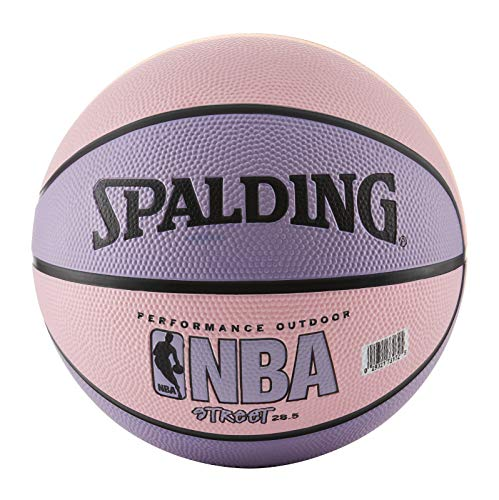 "Spalding NBA Street Basketball - Pink & Purple - Intermediate Size 6 (28.5"")"
