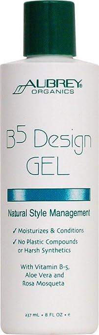 Amazoncom Aubrey Organics B5 Design Gel 8 Oz 3 Pack Hair