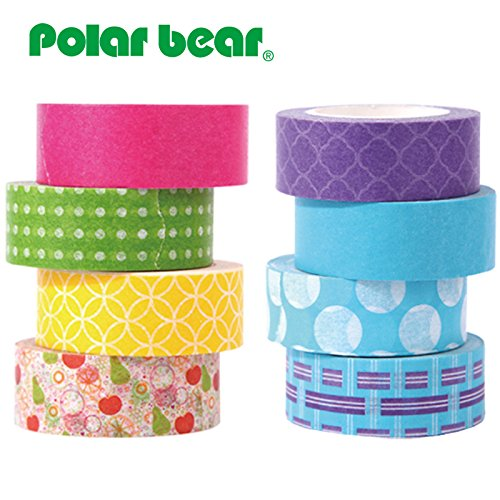 Polar Bear Washi Tape Collection