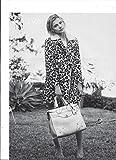 **PRINT AD** With Chloe Grace Moretz For 2015 Coach White Handbags **PRINT AD**