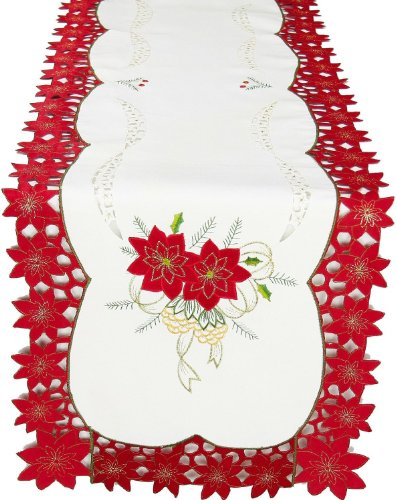 Xia Home Fashions Celebration Embroidered
