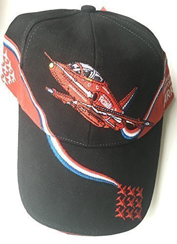 713f71e07 RAF Red Arrows Royal Air Force Military Embroidered Baseball Cap