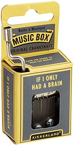 Kikkerland La Vie En Rose Music Box