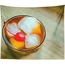 Westlake Art - Drink Cocktail - Wall Hanging Tapestry - Picture Photography Artwork Home Decor Living Room - 68x80 Inch (24B16)