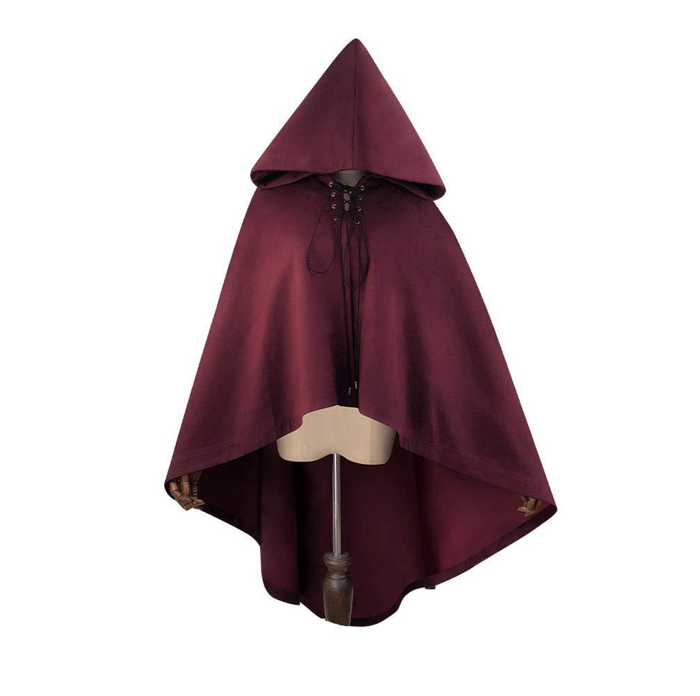 Venta al por mayor barato y de alta calidad. XINXIN XINXIN XINXIN Steampunk Halloween Imitación De Gamuza con Capucha Capa  orden en línea