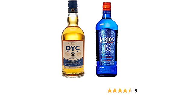 Dyc - Whisky 8A, 40º, 0.7 L + Larios - Ginebra 12 Premium ...