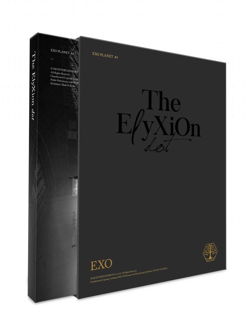 KPOP EXO - Live Album, EXO PLANET #4 : The EℓyXiOn[dot], CD + PhotoBook + Lyrics + Photocard + Tracking K-POP Sealed + Extra Photocards Set