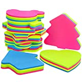 JPSOR 10 Pads Sticky Notes Set, Colorful Self-Stick Notes Pads in Different Shapes, 3 x 3 Inches, 100 Sheets/Pad