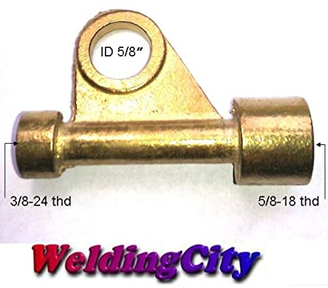 WeldingCity TIG Welding Torch Power Cable Adapter 105Z57 for Torch 9 and 17