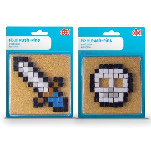 DCI Pixel Push Pins, Assorted Sword or Skull - Sword Push Pins