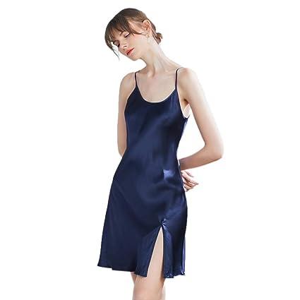 Camisones Mujer Camisas De Tirantes para Niñas Falda Fina De ...