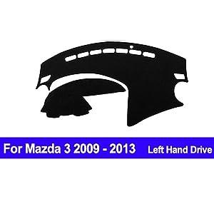 AUCD Car Dashboard Cover for Mazda 3 M3 BL 2009 2010 2011 2012 2013 Automobile Dash Mat Dashboard Pad Carpet Anti-UV Anti-Slip