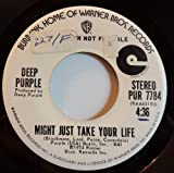 might just take your life / mono 45 rpm single