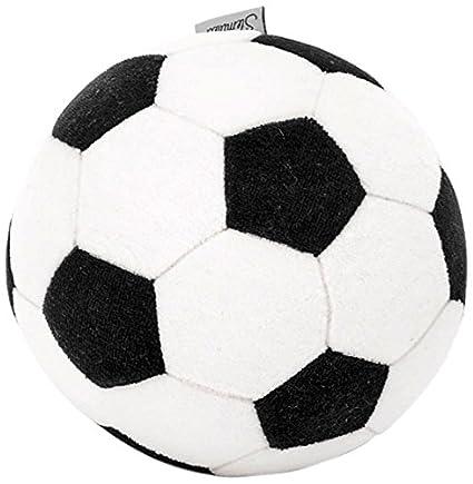 Sterntaler Pelota, Diseño de pelota de fútbol, Edad: de 0 años en adelante, Negro/Blanco
