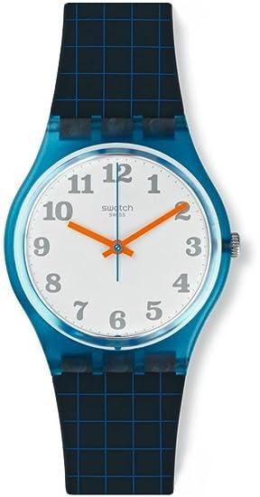 Swatch Reloj Digital de Cuarzo para Mujer con Correa de Silicona - GS149: Amazon.es: Relojes