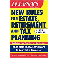 Image for JK Lasser's New Rules for Estate, Retirement, and Tax Planning