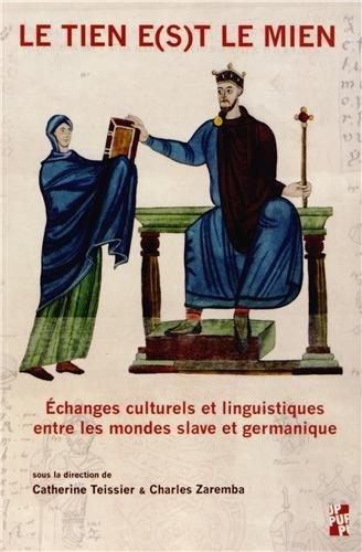 Tien Est Le Mien Teissier Zaremb 9782853998611 Amazon Com Books