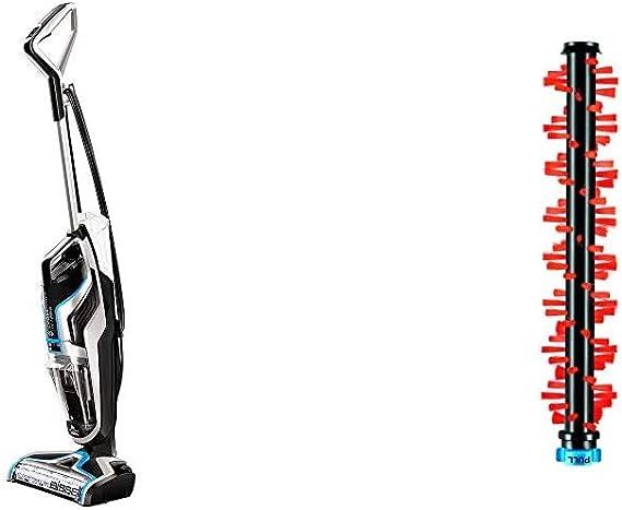 Bissell CrossWave Pet Pro Aspirador y Limpiador Multifuncional para Suelos Duros y alfombras, 560 W, 1.44 litros, 76 Decibelios, Titanium y Bosonova Azul + Bissell 2379 Cepillo para Alfombras: Amazon.es: Hogar