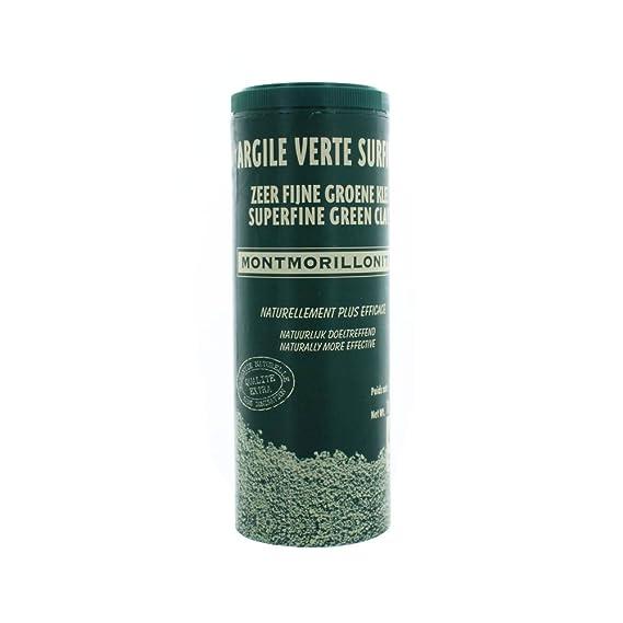 Naturado – Arcilla verde polvo fino de montmorillonita de 300 gramos: Amazon.es: Belleza