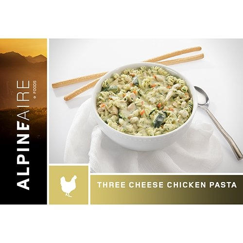 Alpine Aire Foods Three Cheese Chicken Pasta (Serves 2)