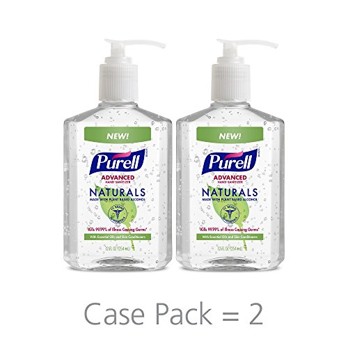 PURELL-Naturals-Advanced-Hand-Sanitizer-Hand-Sanitizer-Gel-with-Essential-Oils-12-fl-oz-Pump-Bottle-Pack-of-2-9629-06-EC