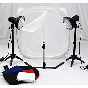 Portable Studio Lighting with Studio Light Tent Kit & Amazon.com : Portable Studio Lighting with Studio Light Tent Kit ...