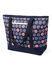 12 galones Insulated Mega bolsa azul oscuro bolsa: