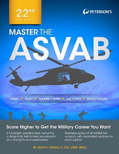 Master the ASVAB (Master the ASVAB (BOOK ONLY))