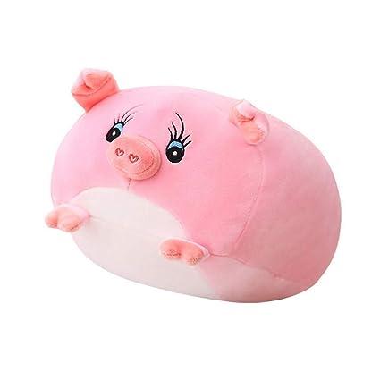 Amazon.com: WDDH - Muñeca de peluche de cerdo, diseño de ...