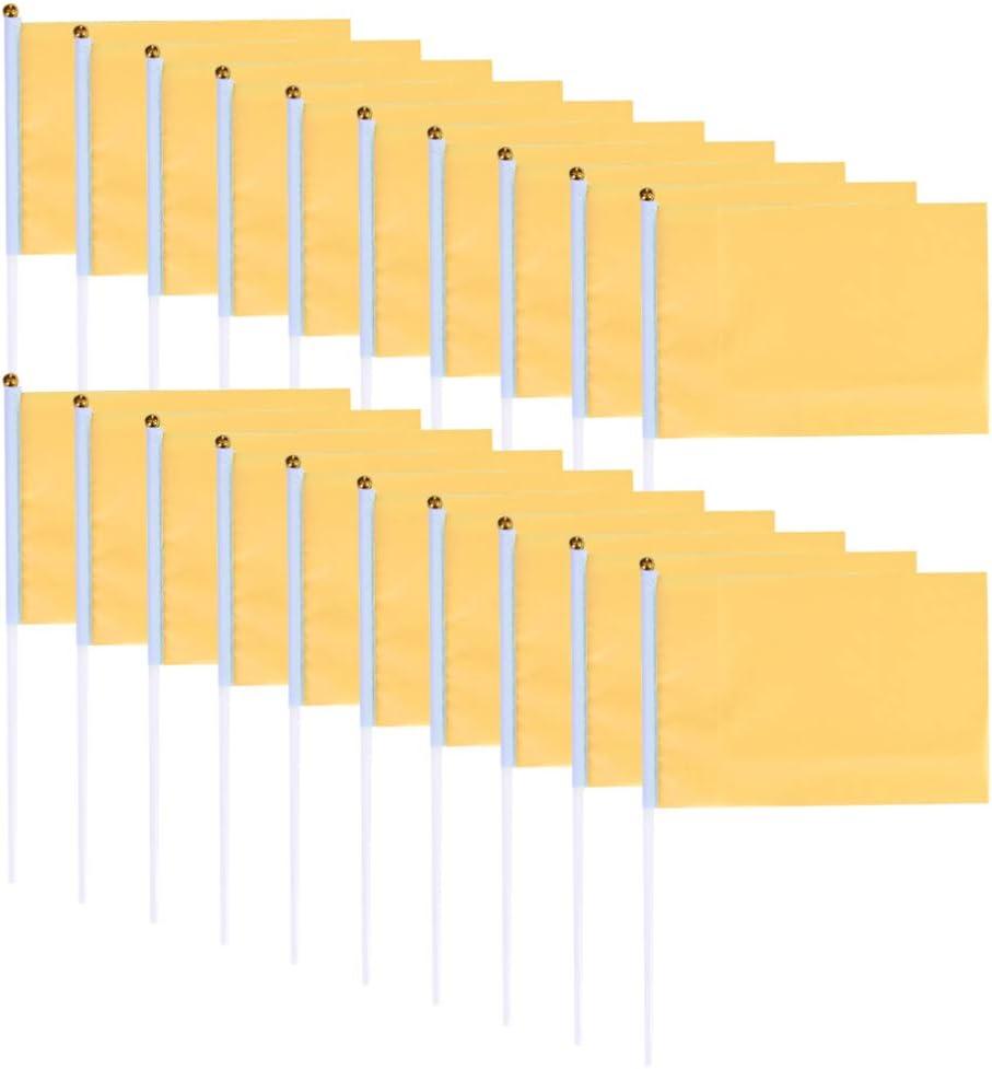 VOSAREA 100 Pcs Mini Drapeaux Petit Drapeau Carr/é de Poche Solide Couleur Drapeaux Carr/és Signal Drapeaux pour La C/él/ébration des /Év/énements Sportifs de F/ête Bleu