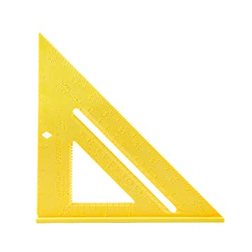 Swanson Tool T0119 Speedlite Square, Yellow by Amazon