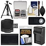 Essentials Bundle for Canon EOS 80D, 5D III IV, 5Ds, 5Ds R, 6D, 7D Mark II DSLR Camera with LP-E6 Battery & Charger + Tripod + Remote + Accessory Kit
