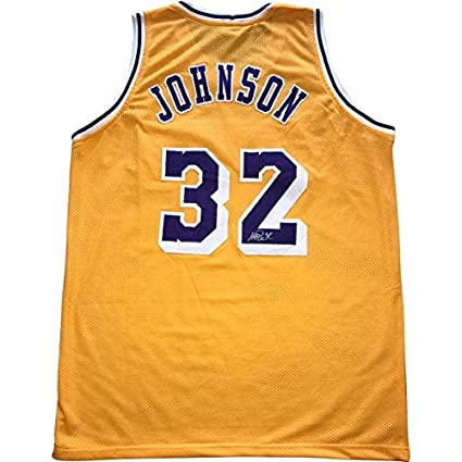 c508a598dd70 Autographed Magic Johnson Jersey - Tri-Star Holo - Autographed NBA ...