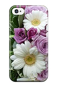 Iphone High Quality Tpu Case/ Bouquet Of Wildflowers IyWAD2214EgPVF Case Cover For Iphone 4/4s