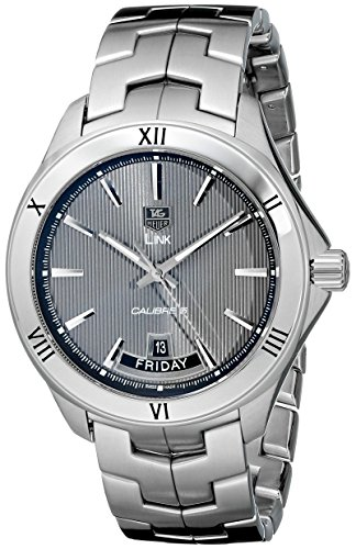 (TAG Heuer Men's WAT2015.BA0951 Link Analog Display Automatic Silver Watch)