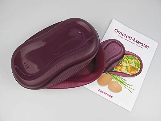 Tupperware omelett Maestro de microondas Lila omlettw Under ...