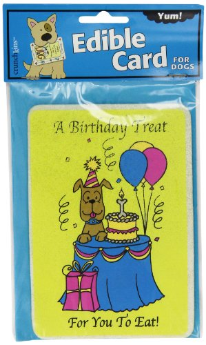 Crunchkins Edible Crunch Card, Birthday Treat To Eat (Card Edible)