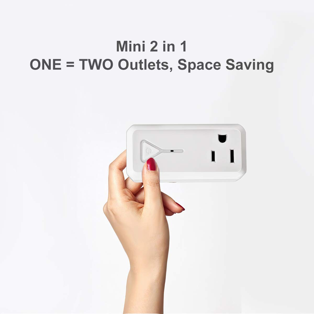 Outlet Switches Tools & Home Improvement 2 Pack Wireless Smart ...