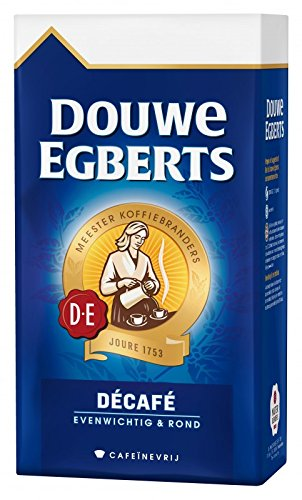 Douwe Egberts Aroma Rood Decaf Coffee, 17.6 (Dutch Ground Coffee)