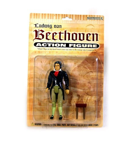 Accoutrements Beethoven Action Figure by Accoutrements